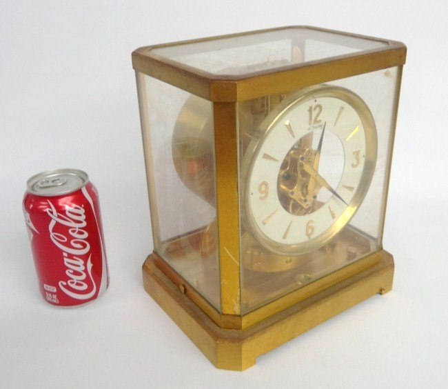 Le Coultre Brass Clock