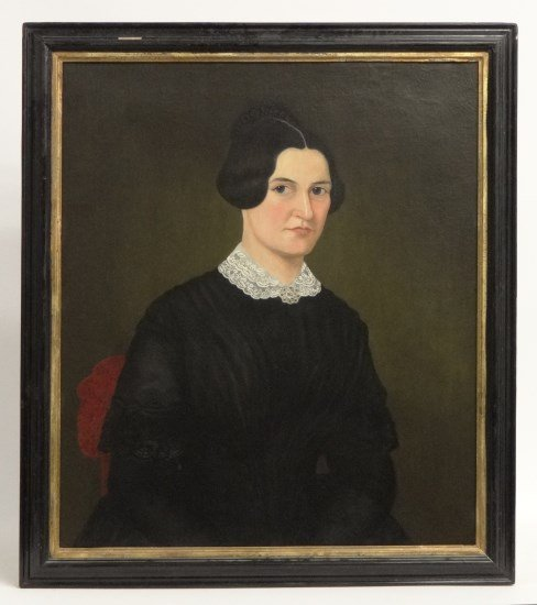 19th c. Portrait Woman