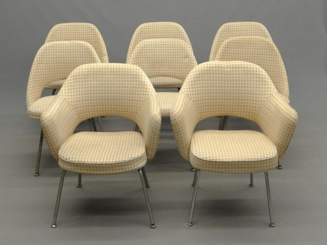Set Of Mid Century Knoll Chairs