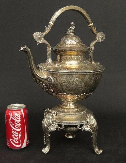 Tiffany English Sterling Silver Teapot