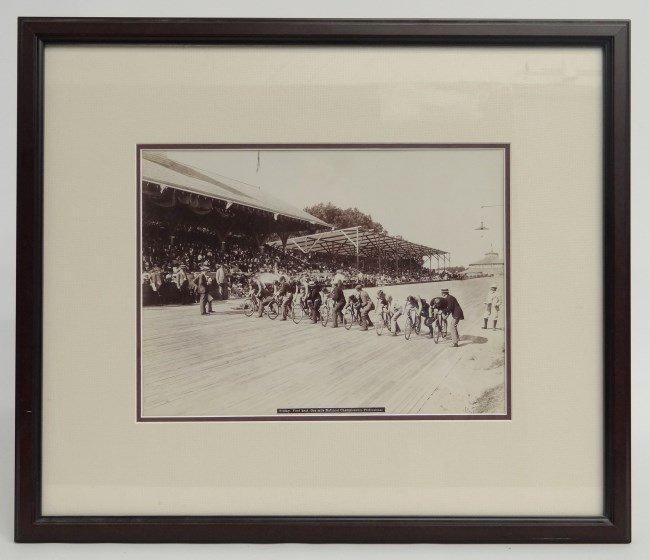 Major Taylor Race Photograph
