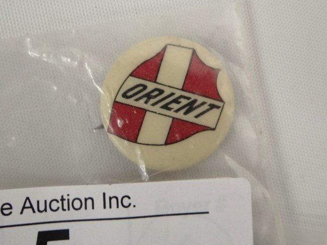 Orient  Bicycle Advertising Pin