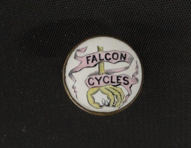 Falcon Cycles Advertising Pin