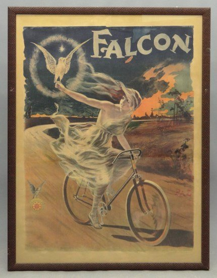 C. 1898 Falcon Bicycle Poster
