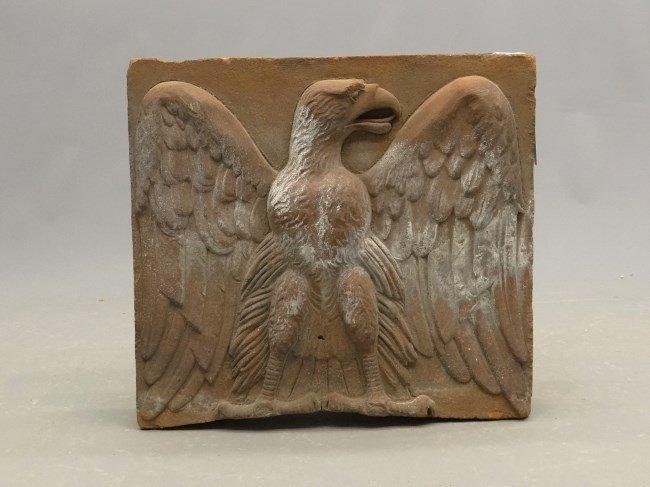 Brick With Eagle Design