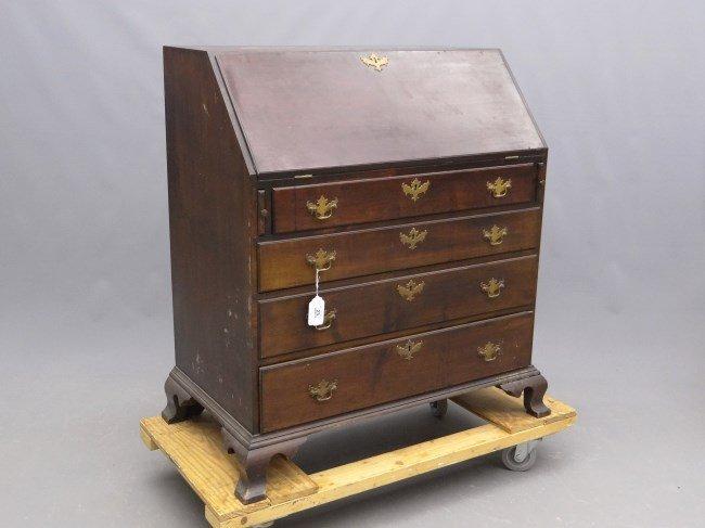 19th c. Slant Lid Desk