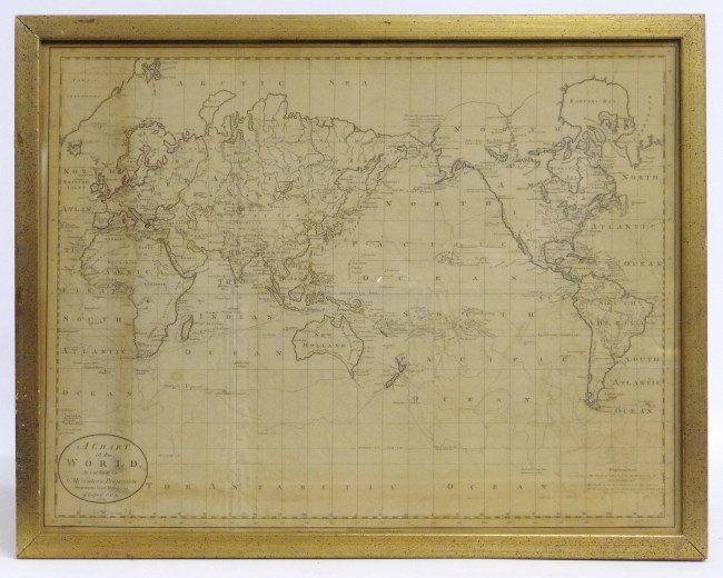 18th c. Map