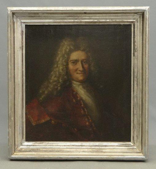 Painting Continental School Portrait