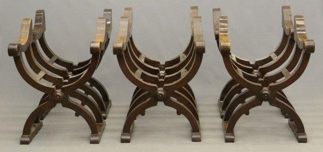 Set of Italian Savonarola Chairs