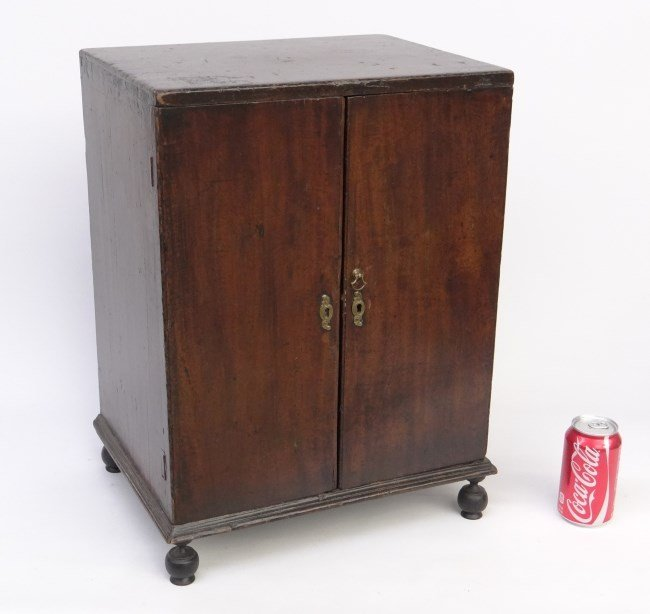 19th c. Spice Chest