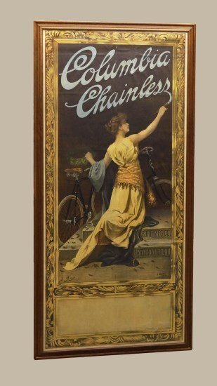Columbia Chainless Poster