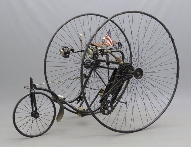 c. 1884 Victor Adult High Wheel Tricycle