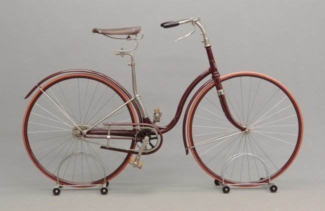 "c. 1890 Paragon"" Hard Tire Safety Bicycle"""