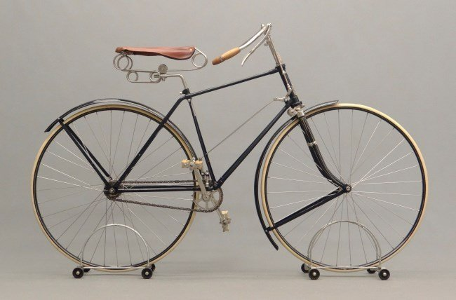 "c. 1890 The Rochester"" Hard Tire Safety Bicycle"""