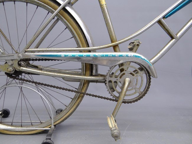 c. 1960's Sears Spaceliner Bicycle - 4