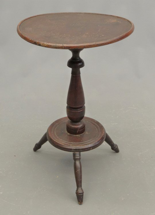18th c. Dish Top Table