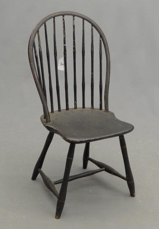 19th c. Bowback Windsor Chair