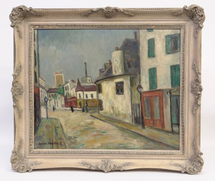 Painting Maurice Utrillo
