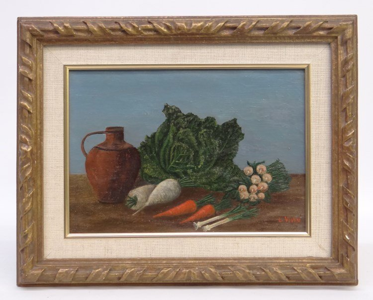 Painting Louis Vivin