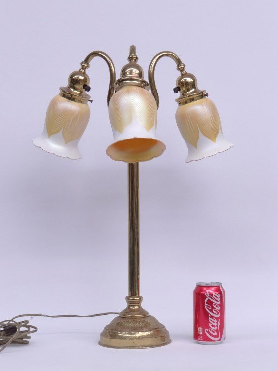 Lamp With Quezel Shades