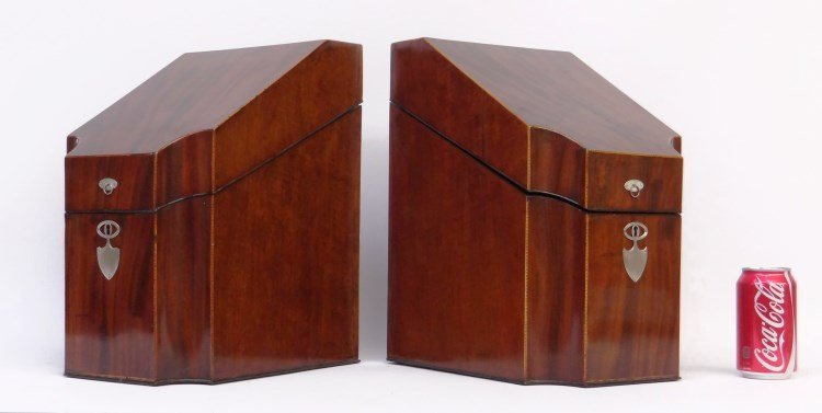Mahogany Knife Boxes