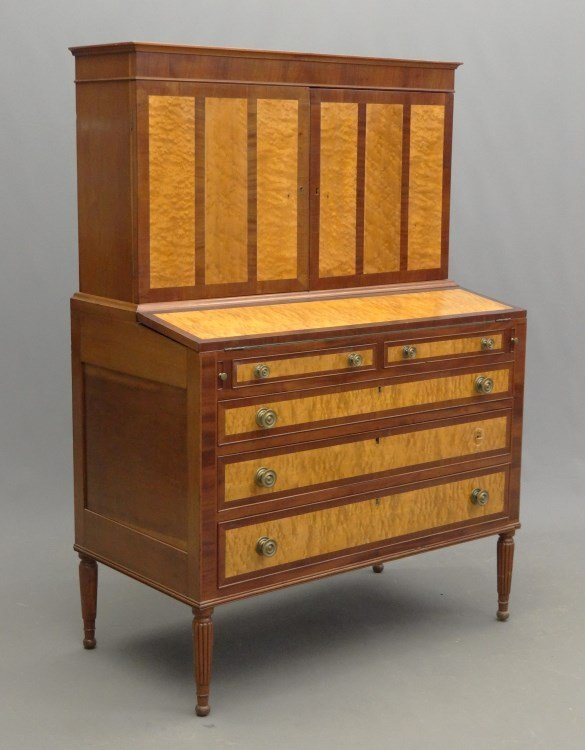 19th c. Sheraton Secretary
