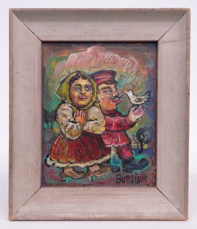 Painting David Davidovich Burliuk