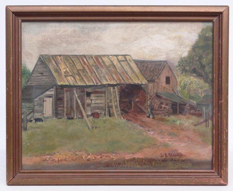 Painting Alexei Aleksei Gritsai