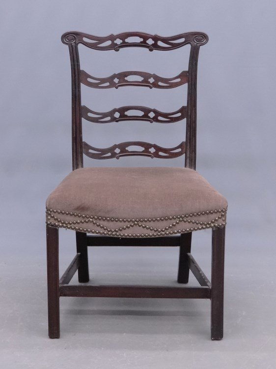 18th c. Ribbon Back Chippendale  Chair