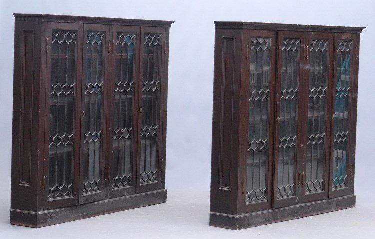 Pair 19th c. Bookcases