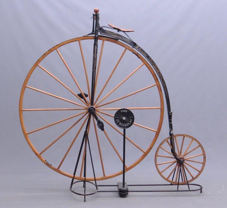 C. 1876 St. Nicholas High Wheel Ordinary