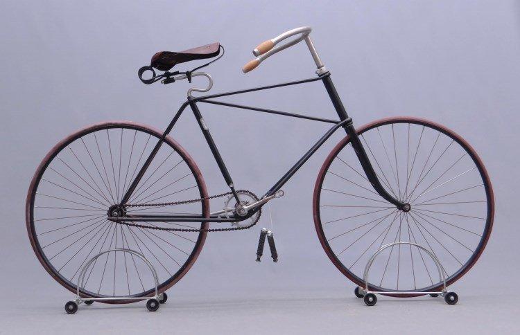 C. 1891 Winton Hard Tire Safety