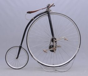 C. 1885 Rudge Kangaroo Safety High Wheel