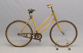 "C. 1898 The Ligna"" Wooden Frame Safety Bicycle"""