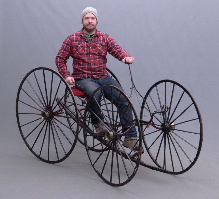 C. 1850 Ward Quadracycle