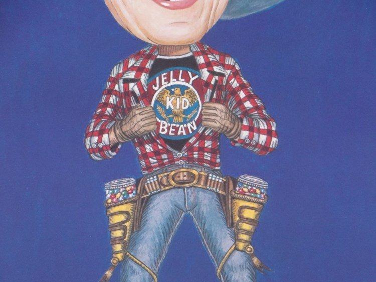 "Ronald Reagan ""Jelly Bean Kid"" Poster - 3"
