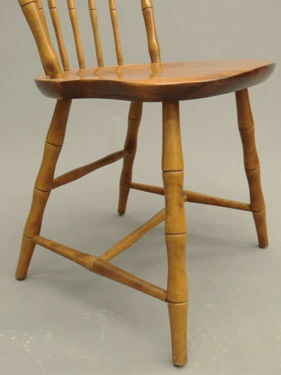 Set Of Nichols & Stone Windsor Chairs - 4