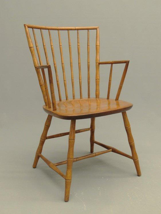 Set Of Nichols & Stone Windsor Chairs - 5