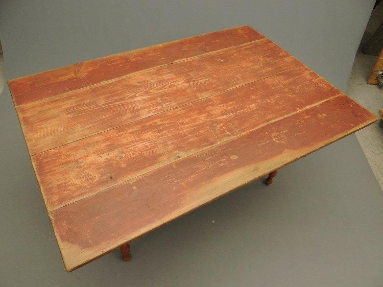 19th c. Farm Table - 3