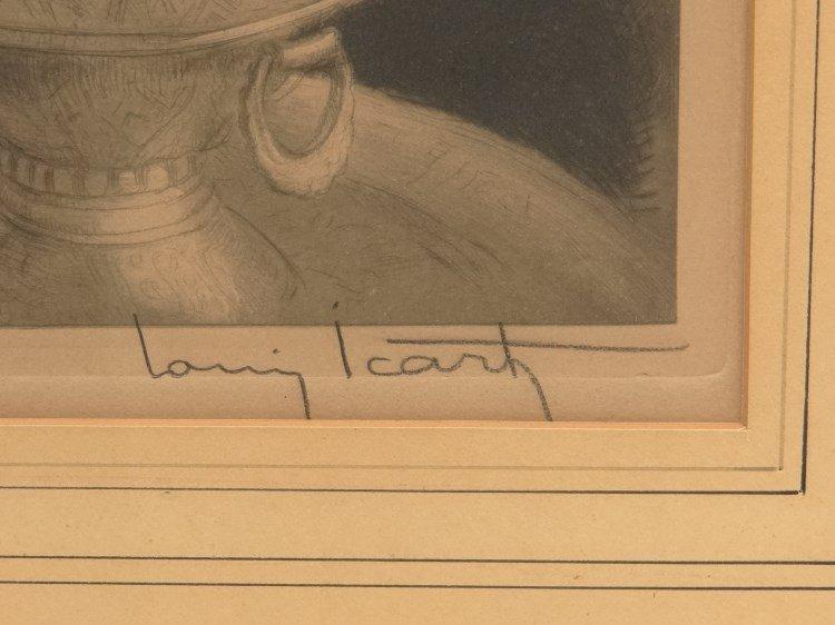 Louis Icart Signed Etching - 3
