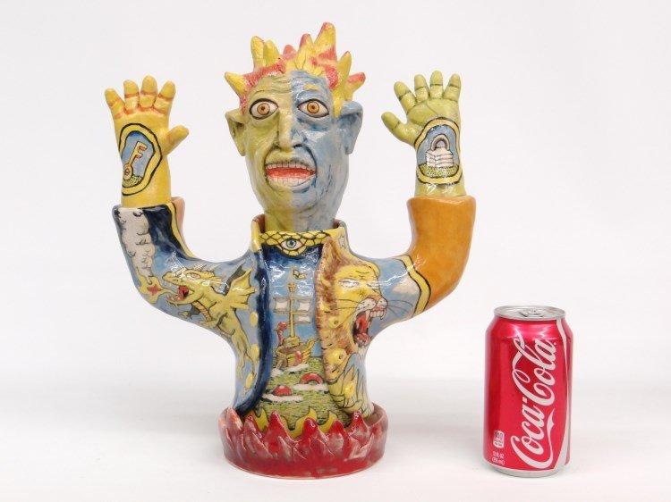 Stacy Lambert Pottery Figure