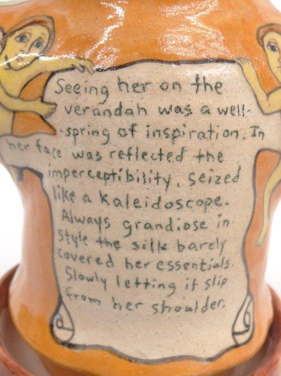 Stacy Lambert Pottery Figure - 3
