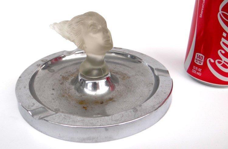 Corning Glass Daughter's Head Mascot