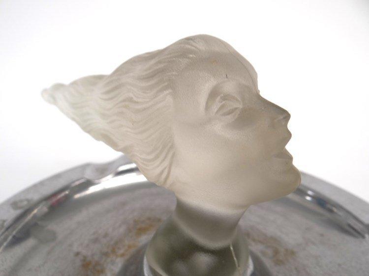 Corning Glass Daughter's Head Mascot - 3