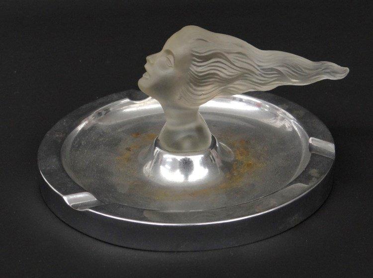 Corning Glass Daughter's Head Mascot - 5