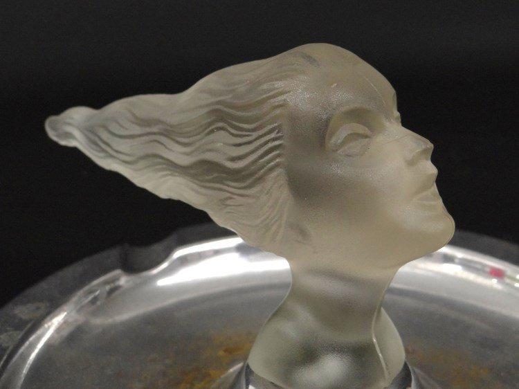 Corning Glass Daughter's Head Mascot - 8