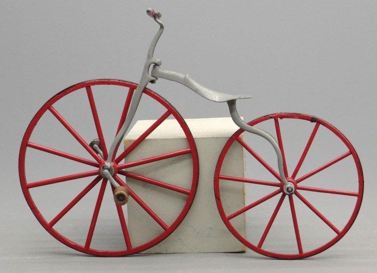 19th c. Child's Boneshaker Bicycle