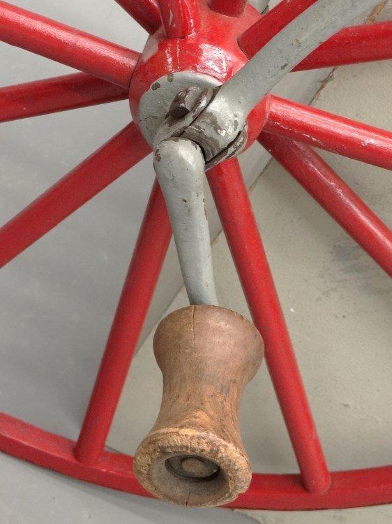 19th c. Child's Boneshaker Bicycle - 3