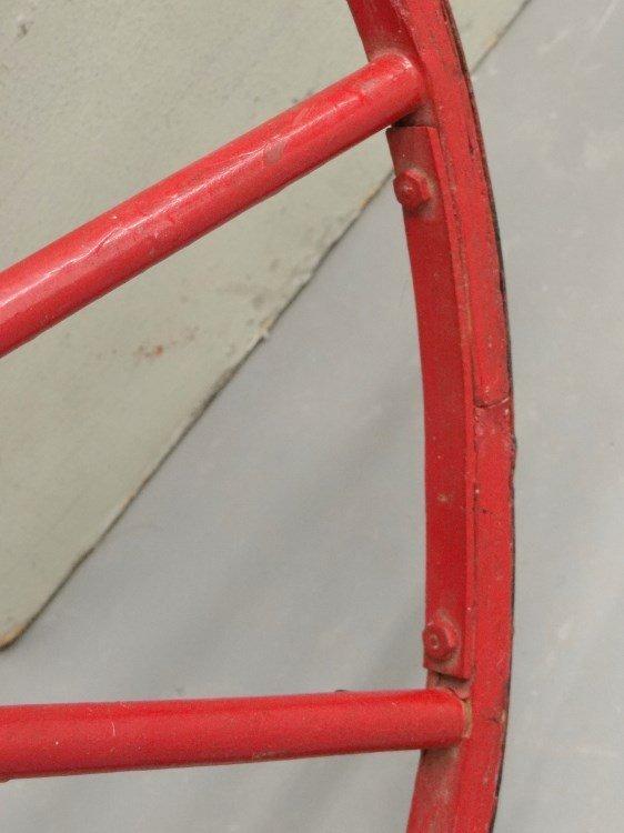 19th c. Child's Boneshaker Bicycle - 8