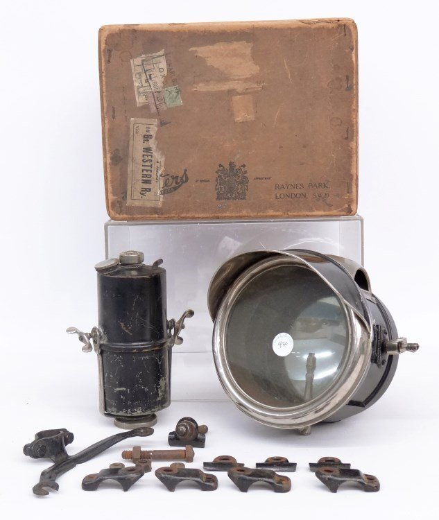 Motorcycle Carbide Lamp